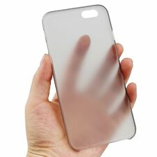 0.3mm Ultra Thin Clear Plastic Hard Matte Back Case Cover for iPhone 6/6 Plus 6+