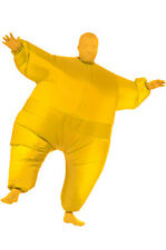 Yellow Infl8 Inflatable Man Outfit Adult Costume