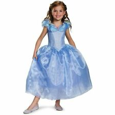Girls Disney Fairytale Deluxe CINDERELLA Princess New Movie Dress