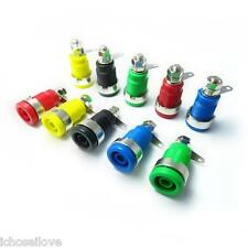 New Insulated Speaker 4mm Banana Plugs Binding posts Socket Connectors DIY
