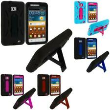 Hybrid Heavy Duty Case Cover with Stand for Samsung Galaxy S2 II i9100 / Attain