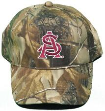 NEW! Arizona State University Sun Devils Buckle Back Hat Embroidered Camo Cap