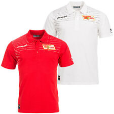 1. FC Union Berlin MATCH Polo Shirt Uhlsport Poloshirt 2. Bundesliga Eisern neu