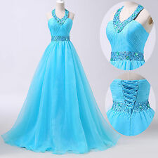 GK Masquerade Quinceanera Formal Prom Party Ball Gown Wedding Long Evening Dress