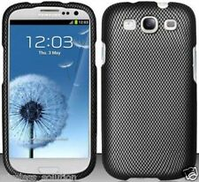 CARBON FIBER PRINT Snap-On Case Hard Cover for Samsung Galaxy S3 SIII