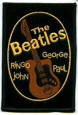 BEATLES BRITISH COLLECTION SERIES: BEATLES RINGO JOHN GEORGE PAUL GUITAR PATCH