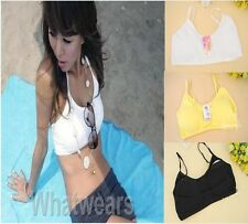 Nice Womens Underwear Sun-Top Wrapped Chest Bra Top 4Colors F8205 WFR