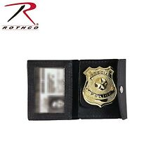 Rothco 1129 Leather ID Badge Holder - Badge NOT included