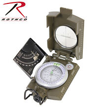 Rothco 14060 Deluxe Marching Compass - Olive Drab