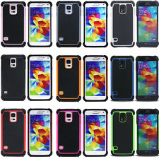 Case Cover Protector For Samsung Galaxy Heavy Duty Hard Silicone Anti-Shock