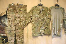 MULTICAM OCP SHIRTS PANTS BATTLE SHIRTS FIRE RETARD INSECT REPEL NEW & USED