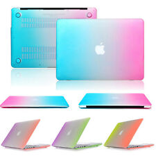 For Apple Macbook Air 11 / 13 Rainbow Gradient Protector Folding Case Hard Cover
