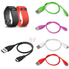 USB Charger Charging Cable For Fitbit Charge HR Wireless Activity Wristband 27cm