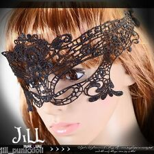 Goth visual aristocrat cosplay ghost town Lace masquerade eye mask【JAL5001】