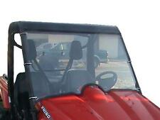 Yamaha Rhino 450,660,700 Full Clear Front Windshield - 1/4 Thick Polycarbonate