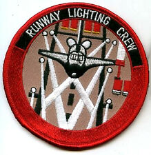 VINTAGE COLLECTIBLE NASA SPACE SHUTTLE LANDING RUNWAY LIGHTING CREW PATCH
