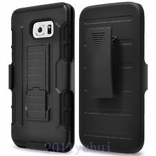 FOR SAMSUNG GALAXY S6 Edge+/Note 5 New HEAVY DUTY Protector CASE COVER+Belt clip