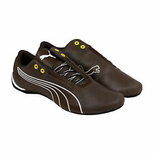 Puma Future Cat S1 Leather Mens Brown Leather & Synthetic Sneakers Shoes