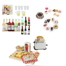 1:12 Miniature Food Drink Dolls House Kitchen/Market/Shop Groceries Accessories