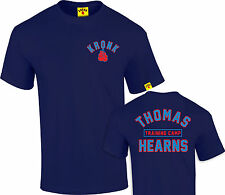 Kronk Boxing Men's Thomas Hearns training camp boxing T Shirt Navy