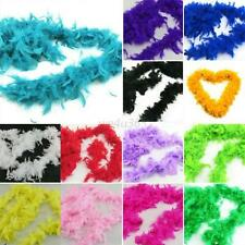 13 Color Fluffy Feather Boa Dressup Hen Night Wedding Party Club Dress Decor W51