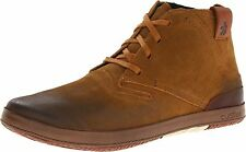 NIB CUSHE PROSPECTOR TAN OR DARK CHARCOAL SUEDE LEATHER MEN'S ANKLE BOOTS