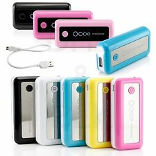 5600mAh Portable External Battery USB Charger Power Bank for Mobile Phone iPhone