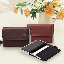 Pocket Waterproof Stainless Steel Business ID Credit Card Case Wallet Holder Box