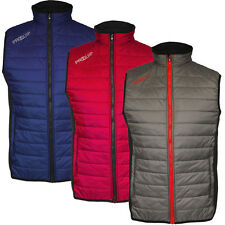 PROQUIP 2016 Full Zip Therma Tour Quilted Vest Insulated Mens Golf Gilet
