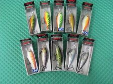 Rapala Shad Rap Deep Runner Crankbait Fishing Lures SR08 EACH SOLD SEPARATELY