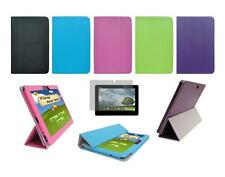 Folio Cover Case and Screen Protector for ASUS Transformer Pad Infinity TF700T