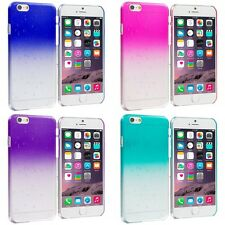 For Apple iPhone 6S (4.7) Crystal Raindrop Waterdrop Hard Case Cover Clear Color