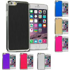 Brushed Aluminum Metal Luxury Hard Case Cover for Apple iPhone 6S (4.7)
