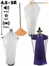 5ft Tall Sound Activated Walking Halloween Party Decoration Animated Sound Prop