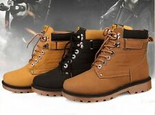 Hot! New! Mens Fashion Faux Leather Casual High Top Shoes Sneakers -US Seller