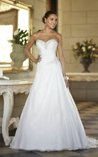 New white/ivory wedding dress custom size 4-6-8-10-12-14-16-18-20-22+++++
