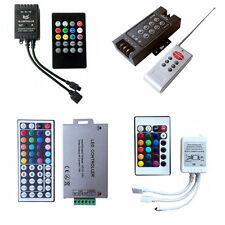 3/8/24/44 Key Music WiFi IR Remote Double Lines Controller For RGB Led Strips