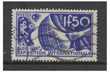France - 1936, 1f50 Paris Exhibition stamp - Used - SG 560