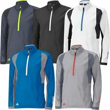 Adidas Climaproof GORE-TEX Paclite Half Zip Waterproof Mens Golf Jacket