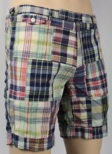 Polo Ralph Lauren Patchwork Plaid Madras Shorts NWT