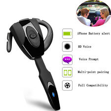 V4.0 Universal Stereo Bluetooth Headset Earphone Earpiece For iPhone SmartPhone