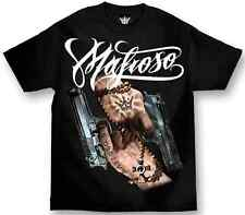 MAFIOSO SAINTS T-shirt Tee Tattoo Art Guns Cross Urban Streetwear Adult M-4XL