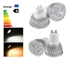 LED Energy Saving GU10/MR16 12W White LED Ceiling Spot Bulb Down Light Lamp DL