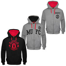 Manchester United Football Club Official Soccer Gift Mens Graphic Fleece Hoody
