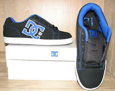 DC Men's Serial 320274 Skate Shoes SIZES! NIB NEW Black Blue