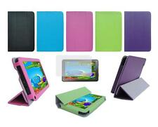 """Folio Skin Cover Case and Screen Protector for DigiLand  7"""" DL701Q Tablet"""