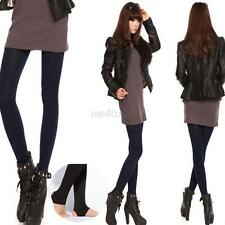 New Women's Thick Warm Fleece lined Fur Winter Tight Leggings Sexy Pants W44