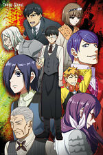 Tokyo Ghoul Group Poster New - Maxi Size 36 x 24 Inch