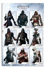 Assassins Creed Compilation Poster New - Maxi Size 36 x 24 Inch