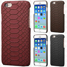 For Apple iPhone 6 / 6S Hard TPU Snake Skin Case Cover Accessory +Screen Guard